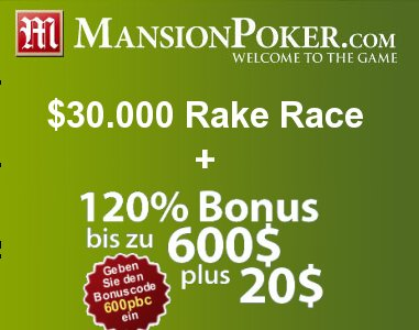 mansion-poker-bonus-rake-race