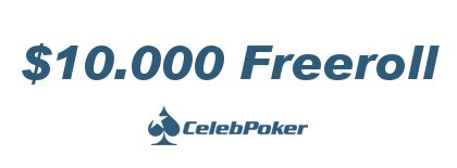 CelebPoker Freeroll