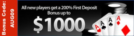 InterPoker Bonus Code August 2009