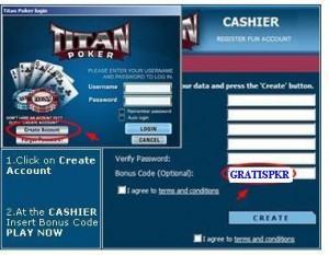 Titan Poker Bonus Code