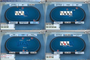 Titan Poker Software Multitabling