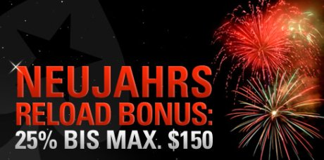 PokerStars Reload Bonus 2010 Januar
