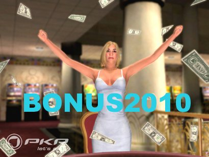 PKR Deposit Bonus 2010