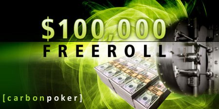 Carbon Poker Freeroll 100k
