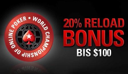PokerStars Reload Bonus WCOOP 2010