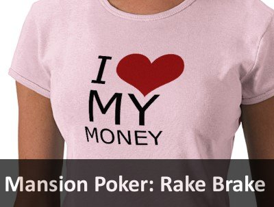Mansion Poker Rake Brake