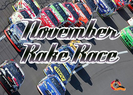 Paradise Poker Rake Race Bonus November 2010