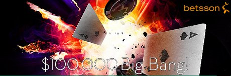 betsson Poker Big Bang Rake Race
