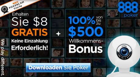 888 Pokercam Tische