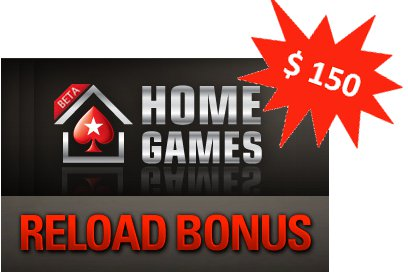 PokerStars Reload Bonus Maerz 2011
