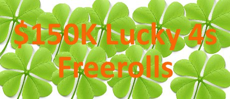 Everest Poker Freeroll Lucky 4s