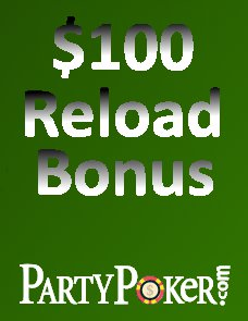 Party Poker Bonus April 2011