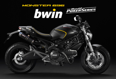 Ducati Monster bwin Poker