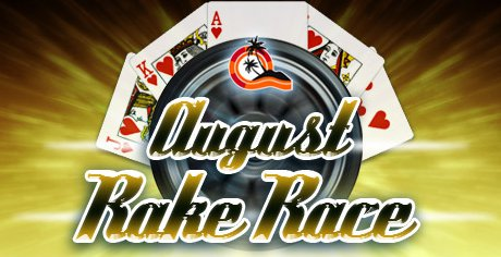 Paradise Poker Rake Race August 2011