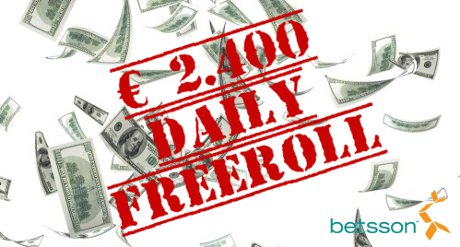 betsson Freeroll September 2011 - BESTE Freeroll