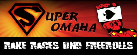 Mansion Poker Super Omaha Freeroll Rake Race