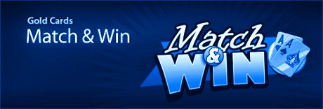 Tower Poker Gold Card Match and Win Januar 2012