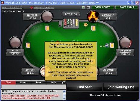 PokerStars 80 Milliarden Hände