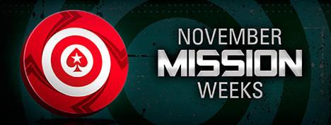 PokerStars Wöchentlich Mission