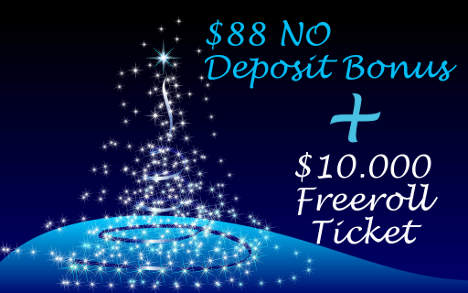 88 No deposit bonus